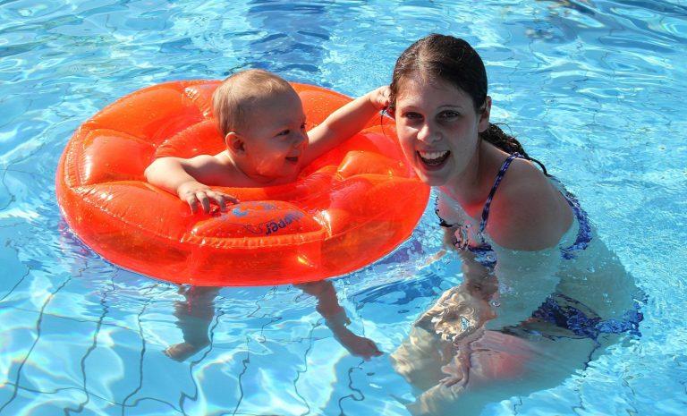 Детский круг для плавания FLIPPER SwimSafe
